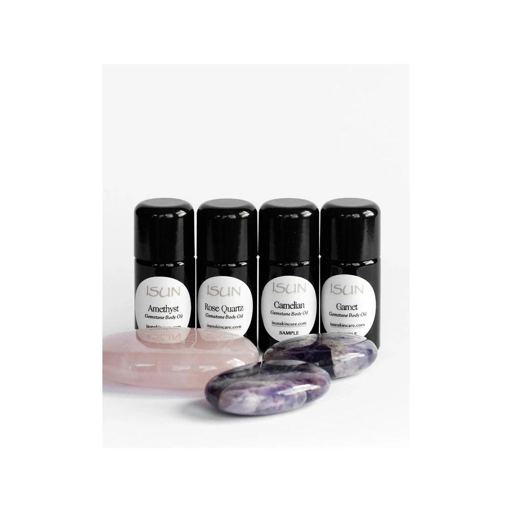 Gemstone Body Oil Set